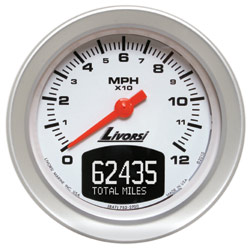 GPS speedometer with odometer 120 MPH