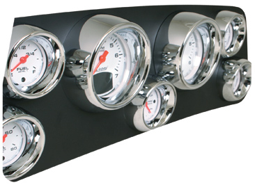 Livorsi Visor Rims on Vantage View gauges