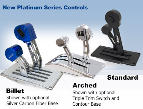 NEW PLATINUM SERIES THROTTLES