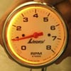 Amber Gauge Backlighting