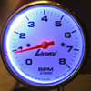 Blue Gauge Backlighting