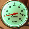 Green Gauge Backlighting