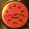 Red Gauge Backlighting