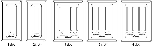 Led Indicators- vertical layout examples