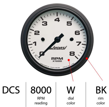 Tachometer Breakdown