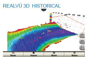Garmin Panoptix RealVu 3D Historical