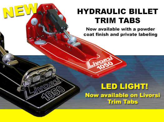 NEW HYDRALIC BILLET TRIM TABS