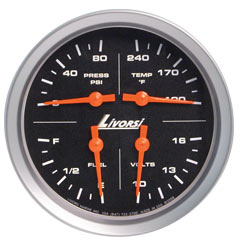 Vantage View Four Function Gauge