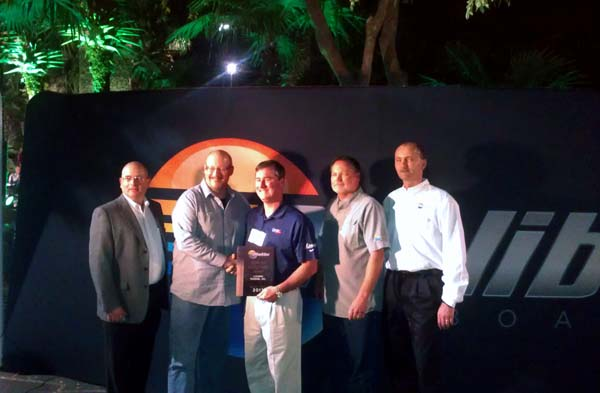 Livorsi Named Top Supplier at Malibu Dealer Meeting