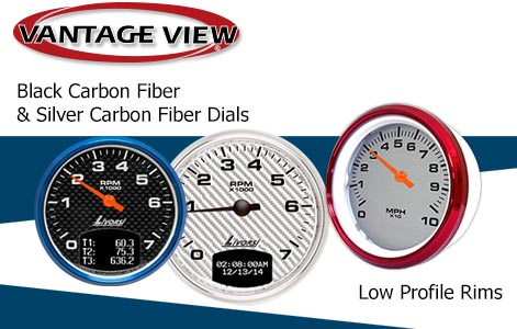 NEW RIM AND DIAL COLORS FOR VANTAGE VIEW