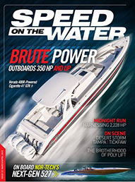Speed On The Water digital magazine March/April issue